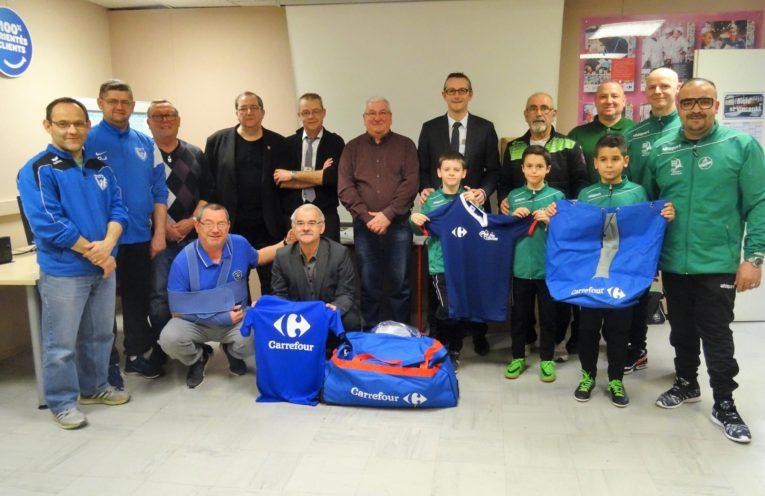 Remise Kit de Football Carrefour